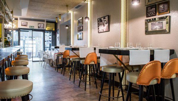 barra restaurante plató